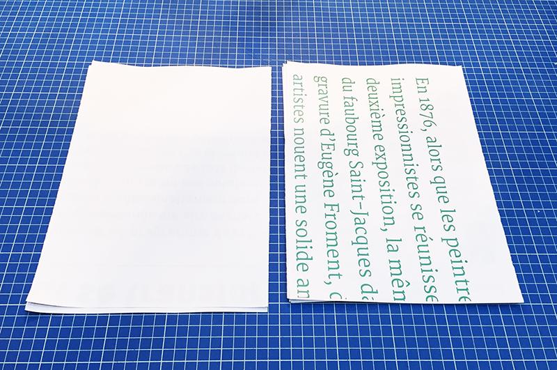 papier tutoriel