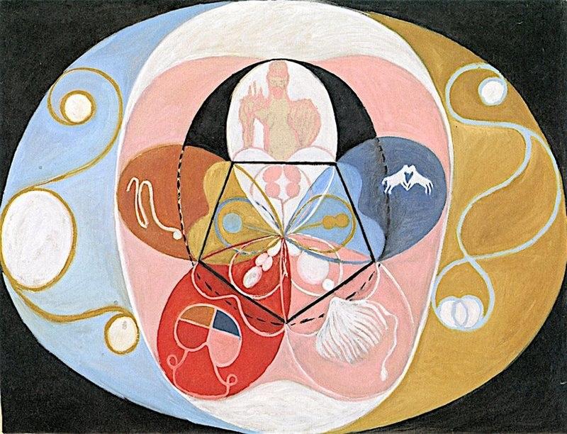 Hilma af klint spiritualité art abstrait