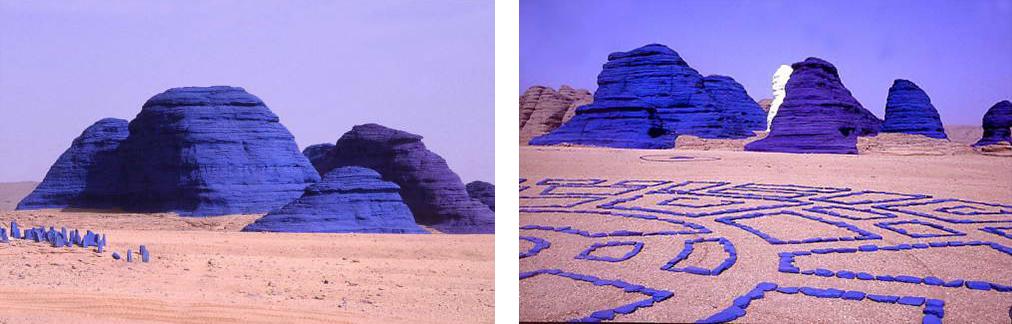 Les rochers peints de Jean Vérame