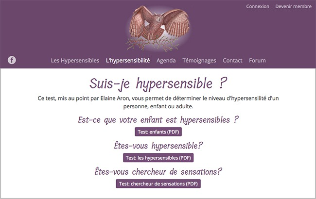 test suis-je hypersensible