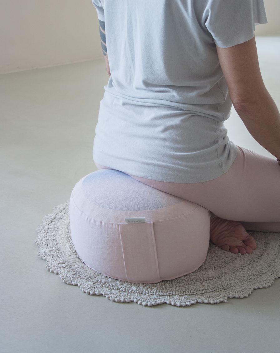 coussin de méditation épeautre