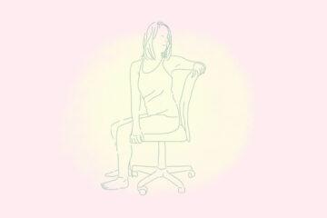 posture yoga au travail