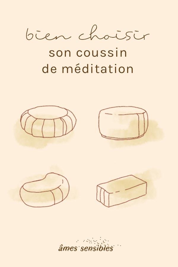 Quel coussin de méditation choisir