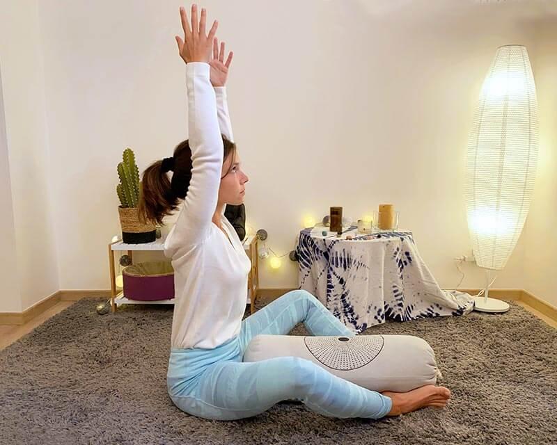 posture de yin yoga