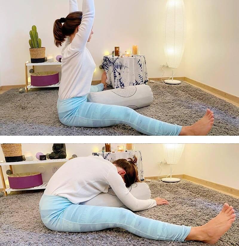 séance yin yoga libellule