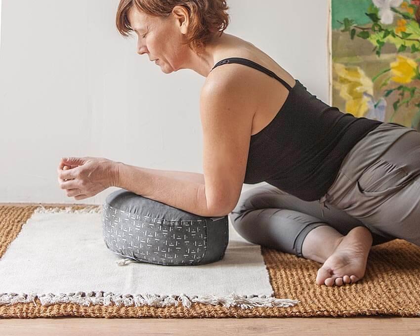 coussin de méditation zafu