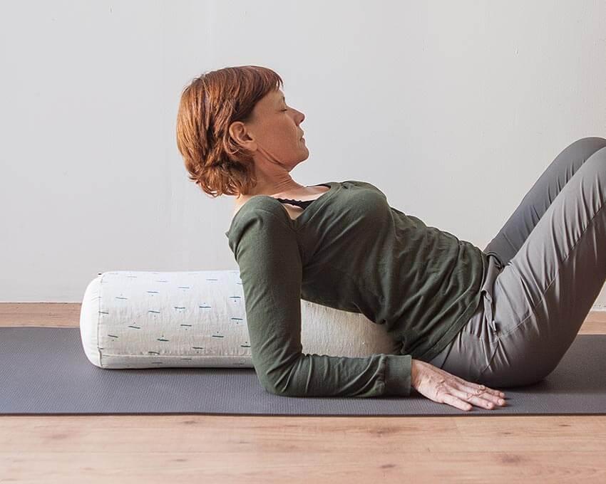 coussin de yoga
