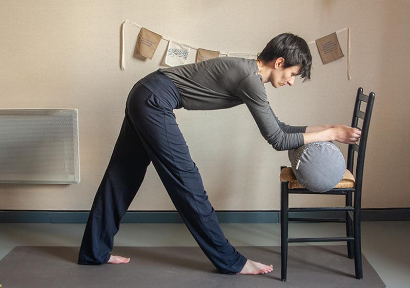Yoga doux étirement